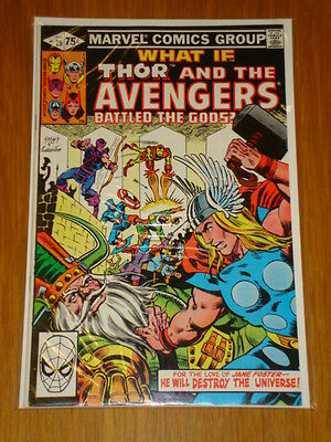 What If #25 Thor Avengers Marvel Feb 1981 Nm (9.4) *