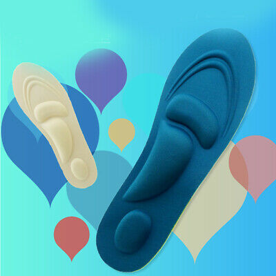 Shoe Support Arch Orthotic Gel Insoles Massaging Sport Pad Unisex Foot Care Fill