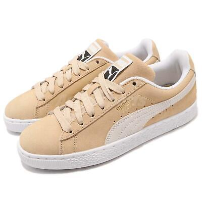 best cheap ae05d 71958 PUMA SUEDE CLASSIC Pebble White Beige Suede Men Casual Shoes Sneakers  365347-11