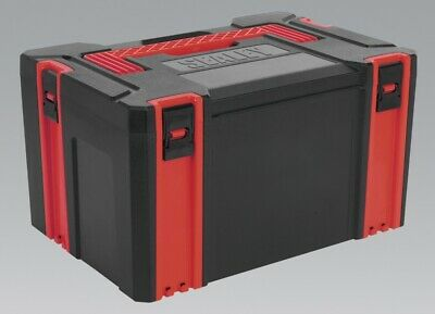 Genuine SEALEY AP8250 | ABS Stackable Click Together Toolbox - Large
