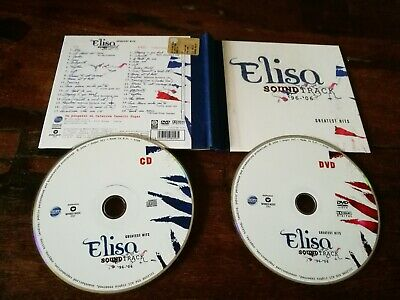 Elisa - SoundTrack Greatest Hits Limited Edition Digibook Dvd & Cd Perfetti