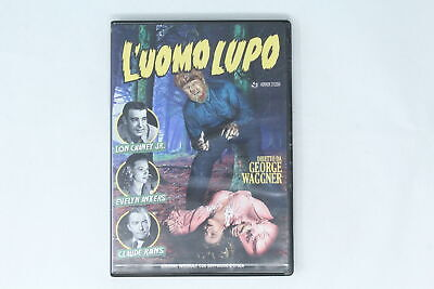 Dvd L'uomo Lupo Sinister Film 1941 Chaney Jr., Ankers, Rains [Pl-015]