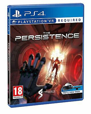 The Persistence PSVR PS4 PlayStation 4 VR Game NEW & SEALED