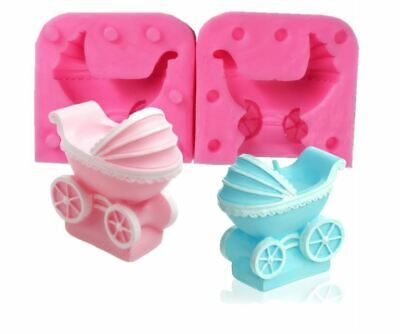 Pram Baby Carriage Silicone Mould