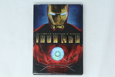 Dvd Iron Man 2 Dischi Paramout Pictures 2008 [Gr-025]