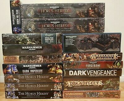 Games Workshop Box Sets Multi-Listing Forgebane Horus Heresy Dark Vengeance 40k