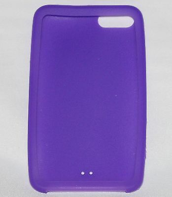 Purple SILICONE CASE for iPod Touch 2nd Gen NEW silicon protector cover skin