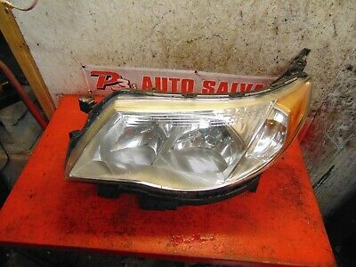 13 12 11 10 09 Subaru Forester Oem Drivers Side Left Headlight Embly