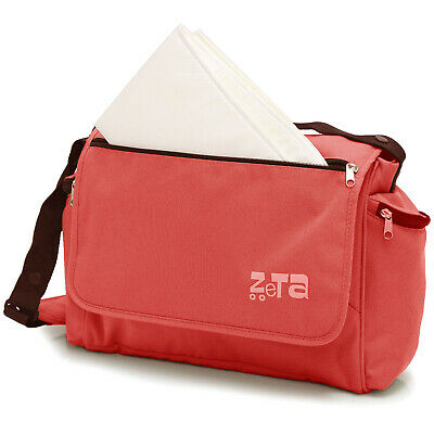 Baby Travel Zeta Changing Bag Plain LEAF Complete With Changing Matt