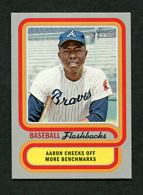 2019 Topps Heritage Baseball Flashbacks Insert Complete Your Set You Pick