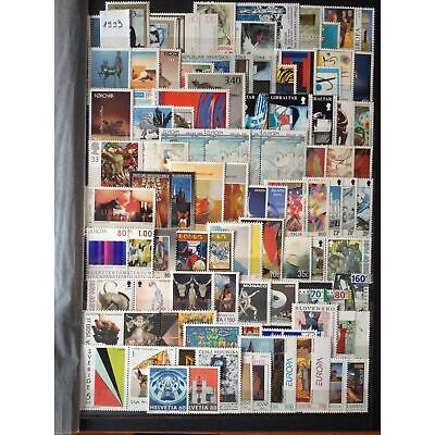 Europa Annee Complete 1993 ** Mnh