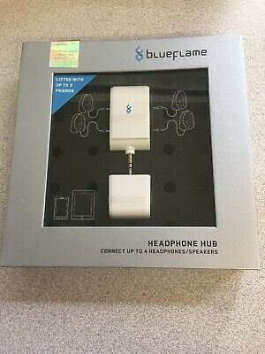 Blueflame The Party Headphone Hub. Connect Up To 4 Headphones/speakers