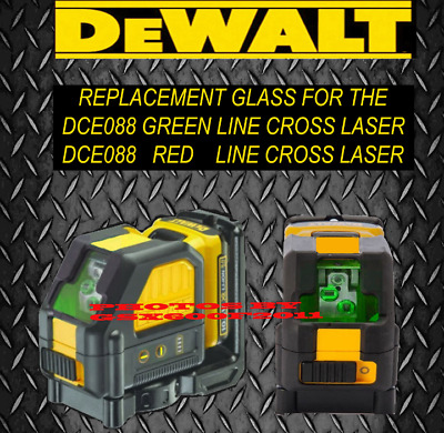 Dewalt Dce088 Red Dce088 Green Replacement Glass/screen/laser Level/repair