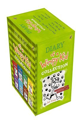 Diary Of A Wimpy Kid 8 Books Slipcase, Kinney, Jeff, New Book