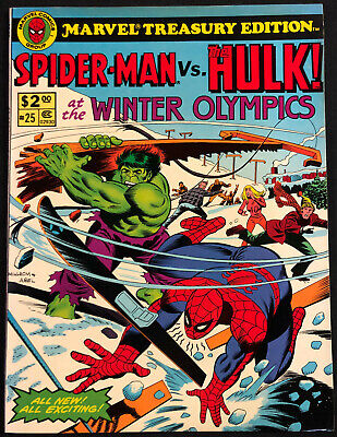 1979 Marvel Treasury Edition Spider-Man Vs The Hulk #25 (Nm)