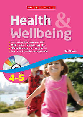 Ages 4-5 (Health & Wellbeing), Graves, Sue, New Book