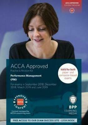 ACCA Performance Management: Practice and Revision Kit by BPP Learning Media, NE