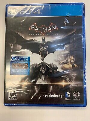 Playstation 4 Batman Arkham Knight Brand New Still Sealed Ps4