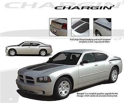 Lower Rocker Fade Stripes Vinyl Graphics Decals fits 2006-2014 Dodge Charger