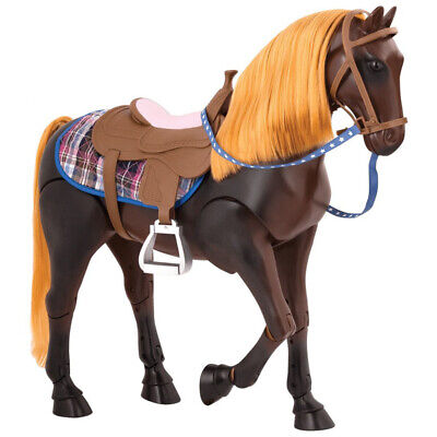 Our Generation Poseable Thoroughbred Horse Suitable for 43cm Dolls