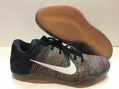 detailed look 00d69 abec3 Nike Kobe XI Elite Low Flyknit iD Multicolor 2016 Men SZ 10  903710-993