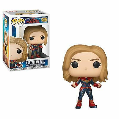 Funko Pop Marvel Captain Marvel Movie Vinyl Figure