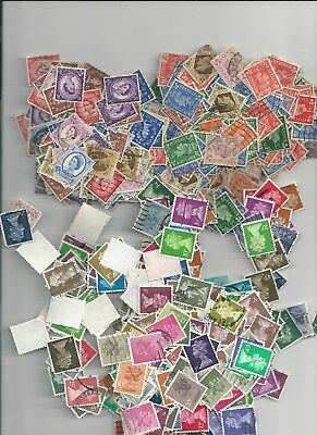 Great Britain - 1000 Assorted Definitive Used Stamps - Gb29-1000