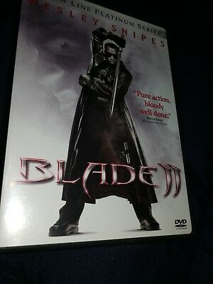 Blade II (DVD, 2002, 2-Discs, Widescreen) WESLEY SNIPES VAMPIRE!  FREE SHIPPING!
