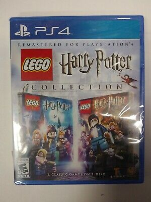 Playstation 4 Lego Harry Potter Collection Brand New Still Sealed Ps4