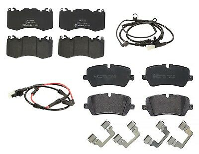 Front and Rear Brembo Low-Met Brake Pads with Sensors Kit For Range Rover Sport