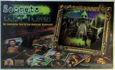 Everything Epic Boardgame Secrets of the Lost Tomb (1st Edition) Box SW