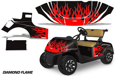 Golf Cart Graphics Kit Decal Sticker Wrap For E-Z-Go Freedom RXV 15-18 DFLM R K