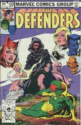 Defenders (1st Series) #123 1983 VG Stock Image Low Grade