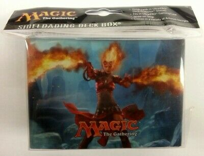 Magic 2014 Side Loading Deckbox Deck Box MtG Flames of Chandra