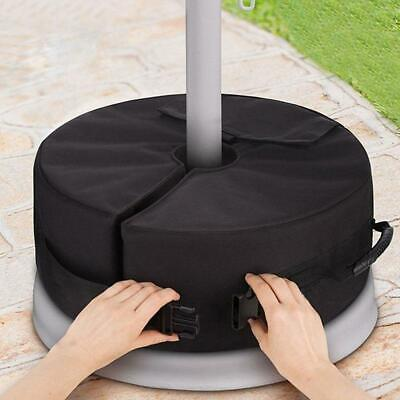 Weight Sand Bag Umbrella Base Stand Outdoor Tent Patio Round Windproof LC
