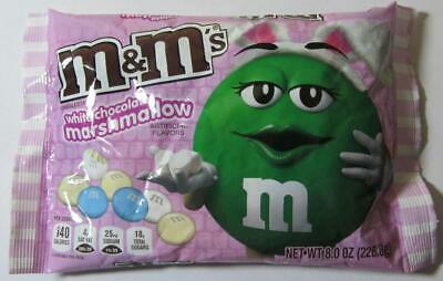 (100 gr = 3,52 €) M&M´s WHITE CHOCOLATE MARSHMALLOW +++ 226,8 gr  +++