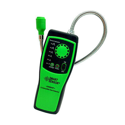 Combustible Gas Detector Methane Leak Tester Tool Natural Gas Security