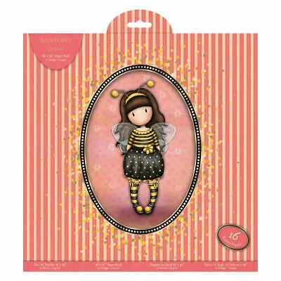 "Santora Gorjuss Girls Craft Collection - 12 x 12"" Paper Pack (32pk)"