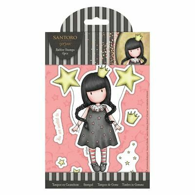 Santora Gorjuss Girls Craft Collection Rubber Stamps - My Own Universe (6pcs)