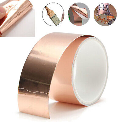Guitar Foil Tape Pickup Copper Conductive Self Adhesive Heat insulation Durable
