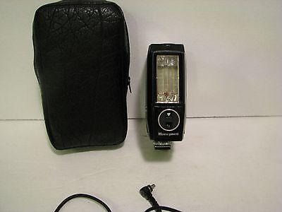 Honeywell Auto Strobonar 460 Electronic Flash Unit WITH CASE/WIRE