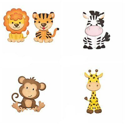 Mixed Animals Metal Cutting Die Stencil Scrapbooking Paper Cards Craft Handmade