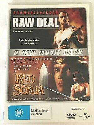 Raw Deal / Red Sonja (2-Movie Collection) DVD Like New