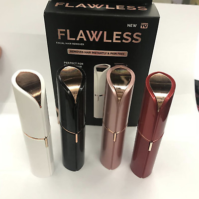 Women's Flawless Brows Facial Hair Remover Electric Eyebrow Trimmer Epilator AU