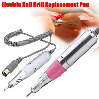 Electric Nail Drill File Machine Replacement Pen Manicure Hand Piece  new !