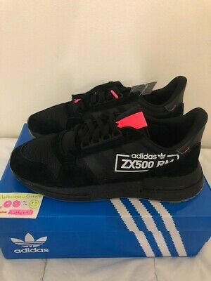dbd3bf2c3 ADIDAS ZX 500 Rm Alphatype Black Black BB7443 Mens Shoes Ultraboost ...