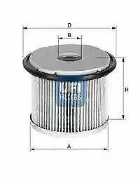 2667600 UFI Fuel Filter Diesel Replaces 1906-43,1606451188,9401906648