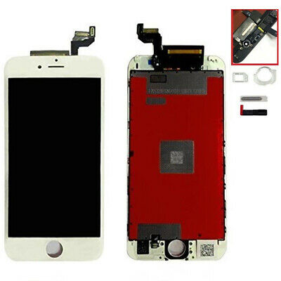 DISPLAY SCHERMO IPHONE 6s BIANCO PER APPLE TOUCH SCREEN LCD RETINA CON FRAME