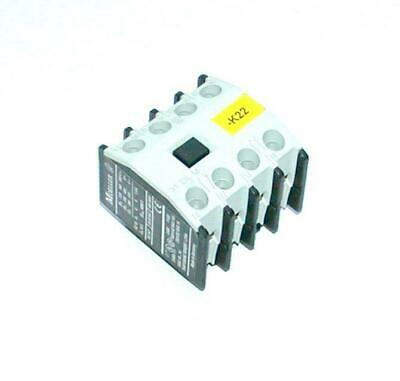 Moeller  22 DIL M  Auxiliary Contact Block 2 N.O. 2 N.C. Contacts