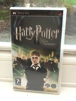 HARRY POTTER AND THE ORDER OF THE PHOENIX : UMD Film For Sony PSP